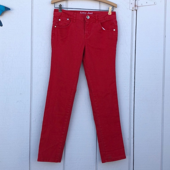 Justice Other - Justice size 12 Red Jeans